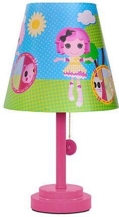 Lalaloopsy bedside lamp