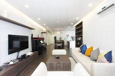 Cải tạo căn hộ 120 m2 thoáng rộng hơn - VnExpress Đời sống