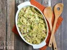 Pesto Ricotta Pasta Salad