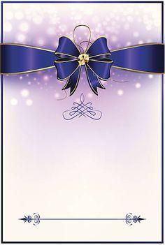 Greeting card / invitation background for print vector art illustration