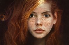 Remembering when I had red hair and freckles like hers....many years ago !