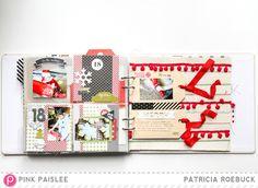 @paroe @pinkpaislee #pinkpaislee #scrapbooking #pocketscrapbooking #ppcc2c #ppmerryandbright