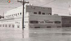 Calles de Tampico en Inundacion 1955