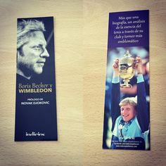 Punto de libro de 'Boris Becker y Wimbledon' de Boris Becker (Indicios) #biografia #tenis #borisbecker #wimbledon