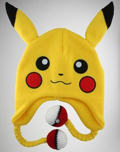 Pikachu hat... Yes, I would wear this too, and without shame at that! I mean, look at how cute it is! :D