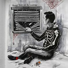 """""""but there's hope out the window""""  -/ cliqueart"""