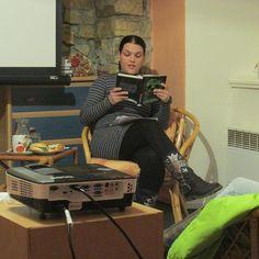 Autorské čtení ve Vamberku, Author´s reading in Vamberk