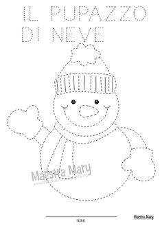 pregrafismo pupazzo di neve