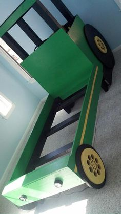 john deere tractor bed plans wonder if it comes in a double crafts and things that i want. Black Bedroom Furniture Sets. Home Design Ideas