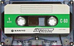 SANYO C-60 Magnetic Tape, Cassette Tape, Mixtape, Compact, Audio, Appliances, Culture, Electronics, Retro