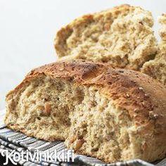 Pähkinäinen leipä | Kotivinkki