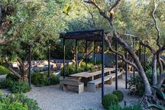 """Patrick Dempsey Selling Frank Gehry-Designed """"Tin House"""" in Malibu Outdoor Rooms, Outdoor Gardens, Outdoor Living, Outdoor Decor, Outdoor Fun, Living Haus, Tin House, Malibu Homes, Gravel Garden"""