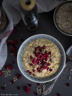 Frühstücks-Oats mit Apfel und Karotte #lecker #leckerbox #frühstück #overnightoats