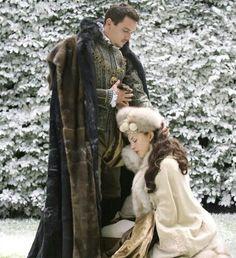 Henry VIII + Anne Boleyn: I want to present you, formally, to King Francis, both as my future wife and the future Queen of England. Princess Elizabeth, Princess Mary, Tudor Series, Enrique Viii, Anne Boleyn Tudors, Sarah Bolger, Tudor Fashion, Tudor Dynasty, Catherine Of Aragon