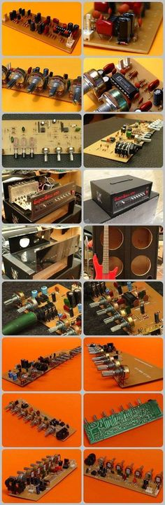 Especially musicians, guitarist would work very preanf's circuits and printed circuit board designs are quality tested. Stereo Microphone Input with Circuit Board Design, Printed Circuit Board, Audio Amplifier, Electronic Art, Electronics Projects, Circuits, Tile, Guitars, Mosaics