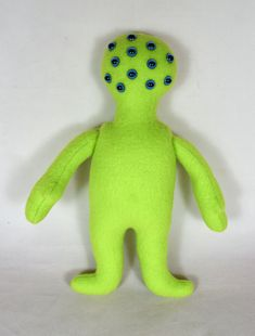 Green Alien Doll - Toys For Kids - Handmade Monster Mini Monster, Monster Dolls, Presents For Kids, Gifts For Girls, African American Dolls, Asian Doll, Cat Doll, Doll Shop, Doll Maker