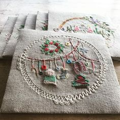 45 ideas embroidery beginner art for 2019 Applique Patterns, Applique Quilts, Quilt Patterns, Stitch Patterns, Cross Stitching, Cross Stitch Embroidery, Hand Embroidery, Mexican Embroidery, Vintage Embroidery