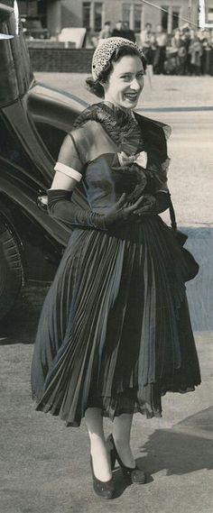 Princess Margaret the sister of HM the Queen Elizabeth II