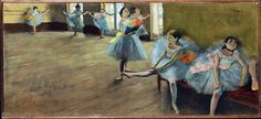 Edgar Degas - Die Ballettprobe [1880] Dancers in the Classroom [1880] Williamstown Sterling & Francine Clark Art Institute museupicassobcn