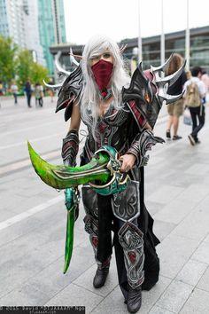 Blood Elf Rogue Elf Cosplay, Comic Con Cosplay, Cosplay Outfits, Anime Outfits, Cosplay Girls, Cosplay Costumes, Rogue Cosplay, Cosplay Ideas, Video Game Costumes