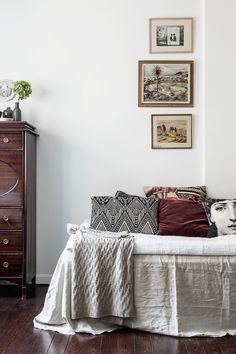 Heleneborgsgatan Södermalm bedroom pillows Fantastic Frank