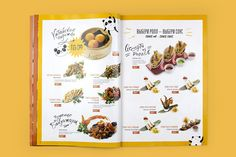 25 Exellent Restaurant Menu Designs