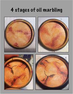 Oil marbling tutorial