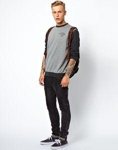 Vans Sweatshirt Benicia Contrast Sleeve