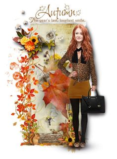 """""""Beauty of Autumn"""" by tammynky ❤ liked on Polyvore featuring art"""
