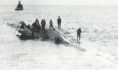 U-97 (Type VIIC) beached at Haifa in 1943.