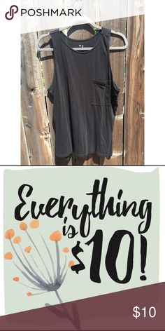 Black Pocket Tank Pair with jeans, a skirt, shorts, overalls, khakis, bermudas, ... the list goes on! Old Navy Tops Tank Tops