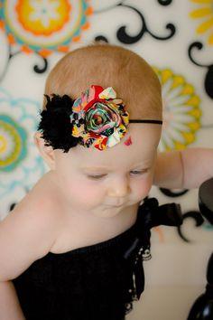 Bohemian Flower Headband  Shabby Chic Flower by SamdipityBowtique, $9.95