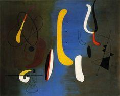 Le surréalisme - Joan Miro - Constellation (1933 ).