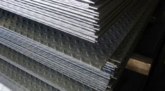 HB Steel specializes in just in time delivery of Galvanized Sheet Metal, Galvanized Tread Plate, and diamond plate in standard sizes. Diamond plates are often used where pedestrian traffic requires a solid non-slip surface. Galvanized Steel Sheet, Galvanized Metal, Steel Distributors, Steel Supply, Steel Suppliers, Steel Plate, Steel Material, Plates, Diamond