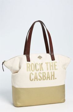 kate spade new york 'call to action - terry' tote available at #Nordstrom - yes please.