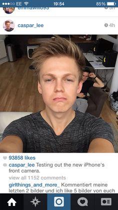 Caspar Lee InstagramCaspar Lee Instagram