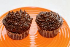 Chocolate Cupcakes... no sugar!  I think I would probably soak the dates in the coconut milk to soften them before using the processor... they can be a little rough on the blades.