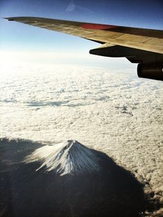 JAL×Mt.Fuji  Tokyo----------->Hiroshima