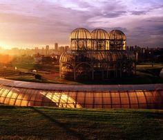 jardim botânico Curitiba (Brasil)