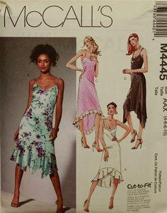 McCall's Evening Dance Tango Dress Pattern 4445 by patterntreasury, $16.95