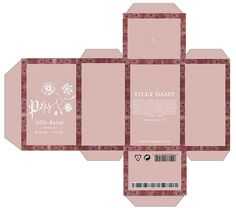 posey by tilly daisy perfume box packaging | Flickr - Photo Sharing!