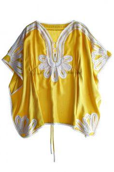 Marrakesh Caftan- love the color, love the cut, love the embellishments