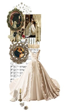 """""""Phantom of the Opera - Christine"""" by marialay ❤ liked on Polyvore featuring Masquerade, WallPops, Plastic Bat and Funtasma"""