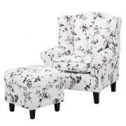 Sessel Colmar - Mit Hocker Accent Chairs, Sofa, Furniture, Home Decor, Stools, Asylum, Armchair, Living Room Ideas, Homemade Home Decor