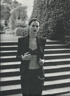 lace bra and blazer #innerwearasouterwear