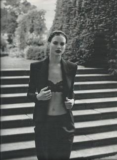 Underwear as outerwear - W mag #YAYER #Inspiration
