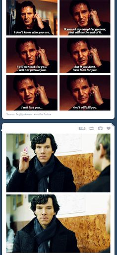 Love Sherlock's face! #Sherlock #Taken #BBCSherlock