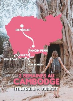 2 weeks in Cambodia: itinerary and budget – Travel and Tourism Trends 2019 Voyage Laos, Voyage Europe, Travel And Tourism, Asia Travel, Travel Destinations, Battambang, Kampot, Phnom Penh, Angkor