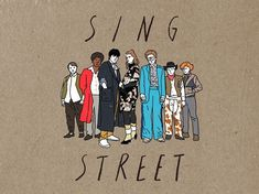 Sing street on Behance Sing Street Movie, Memories Of Murder, Street Tattoo, Alternative Movie Posters, Film Music Books, Film Posters, Movies Showing, Good Movies, Pop Art