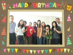 Happy Birthday Acis - the series #friendship #secondfamily #office #secondhome